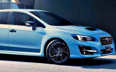 Представлен «заряженный» универсал Subaru Levorg STI Sport