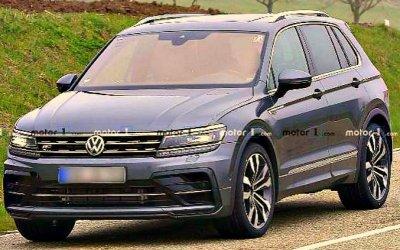 Volkswagen Tiguan R: начаты скоростные испытания