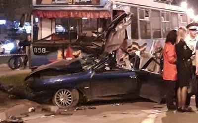 Пять человек погибли в ДТП с троллейбусом в Дзержинске