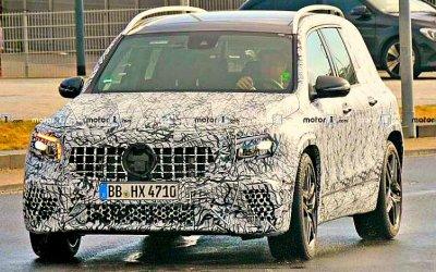 Около «Нюрбургринга» замечен новый Mercedes-AMG GLB 35