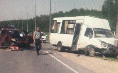Пять человек пострадали в ДТП в Спасском районе Рязанской области