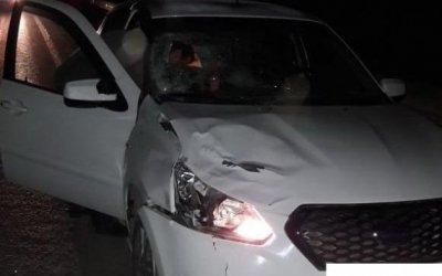 Иномарка насмерть сбила пешехода на трассе Пермь-Екатеринбург