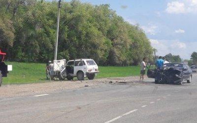 Трое взрослых и младенец пострадали в ДТП в Вольском районе