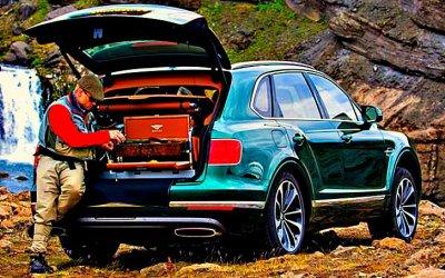 Bentley Bentayga получил спецверсию для рыбаков