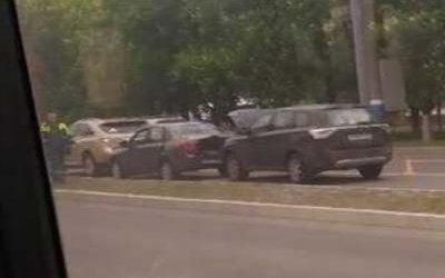 Девушка пострадала в ДТП в Брянске