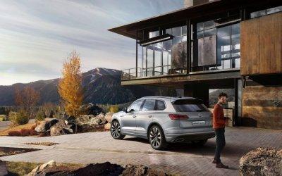 Volkswagen Touareg Exclusive – достойный автомобиль