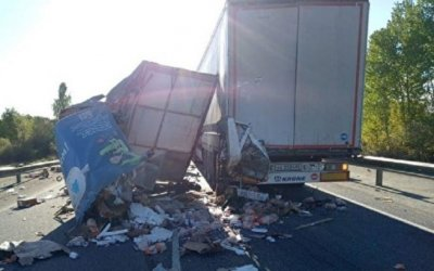 В ДТП с двумя фурами возле Шумихи погиб человек