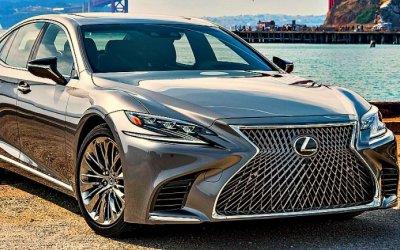 ВРоссии объявлен отзыв LexusLS