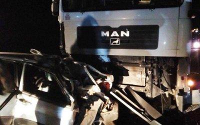 Три человека погибли в ДТП с фурой под Новосибирском
