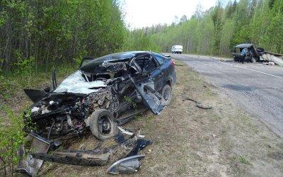 В ДТП в Коношском районе Архангельской области погибли два человека