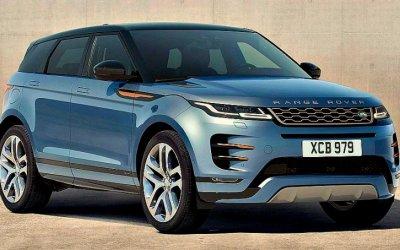 Range Rover Evoque станет электромобилем