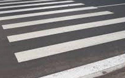 В Воронеже иномарка после ДТП сбила девочку