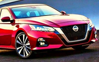 ВРоссии запатентован новый Nissan Teana