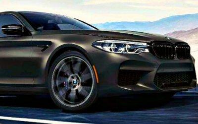 BMW M5 празднует юбилей