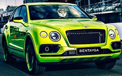 ВРоссию привезли эксклюзивный Bentley Bentayga