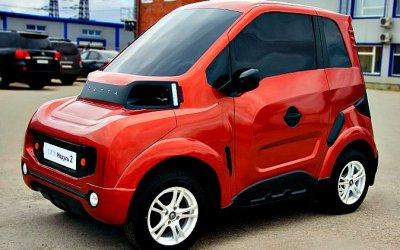 Стала известна цена нового российского электромобиля