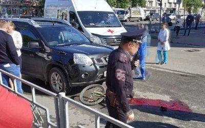 В Уфе женщина-водитель насмерть сбила ребенка на велосипеде