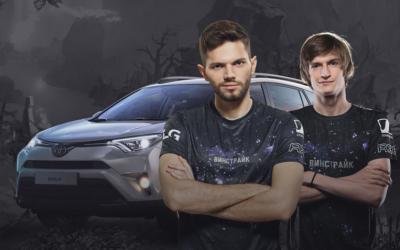 Toyota решила поиграть в Dota 2 на стороне русских
