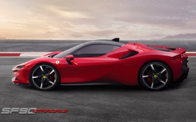 Ferrari Авилон объявляет о старте приема заказов на новый суперкар Ferrari SF90 Stradale
