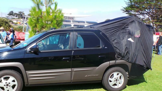 8 палатка в багажнике