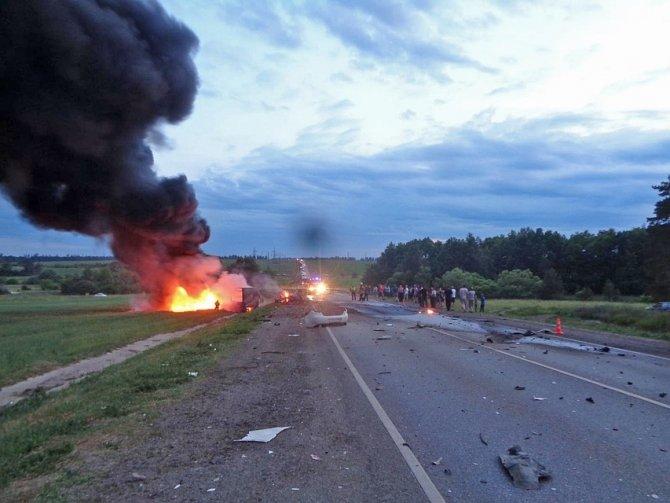 Водитель иномарки погиб в ДТП под Тамбовом