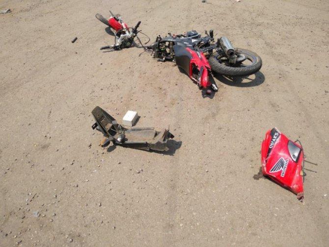 В ДТП в Тамбовской области погибла пассажирка мотоцикла