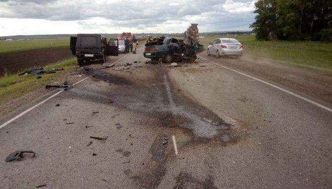В Башкирии в ДТП с «Геликом» погибли два человека (1)