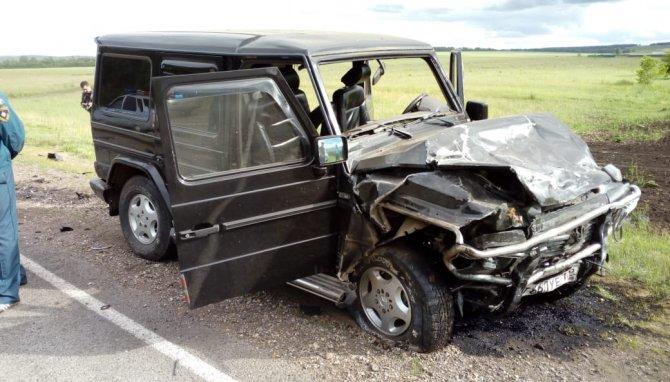 В Башкирии в ДТП с «Геликом» погибли два человека (2)