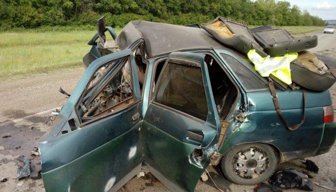 В Башкирии в ДТП с «Геликом» погибли два человека (3)