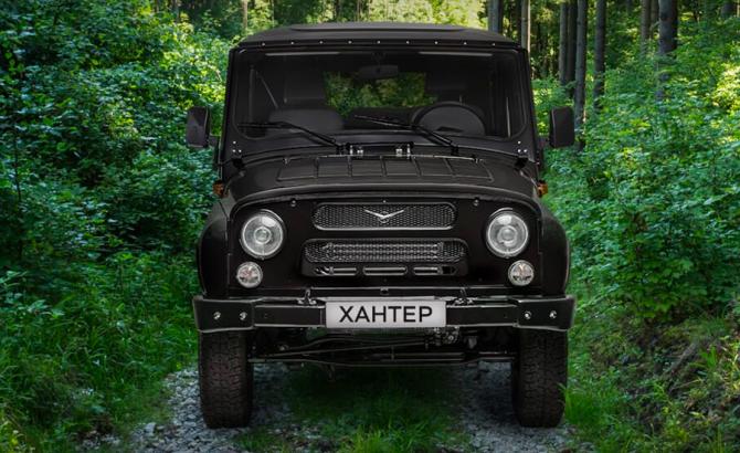 15 УАЗ Hunter