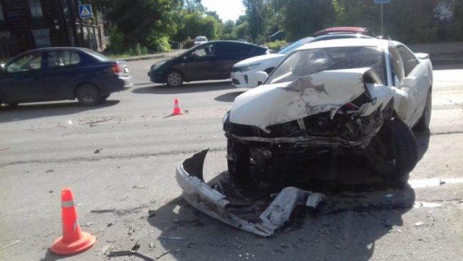 Два человека пострадали в ДТП в Томске (1)