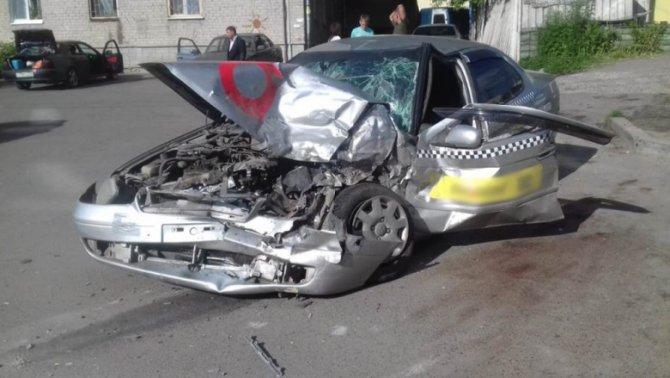 Два человека пострадали в ДТП в Томске (2)