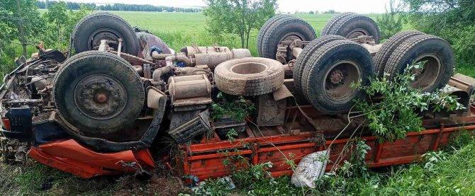 Пассажирка КамАЗа погибла в ДТП в Удмуртии