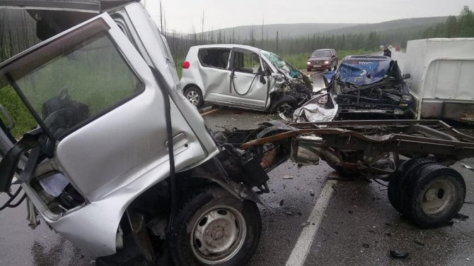 Пять человек пострадали в ДТП в Якутии
