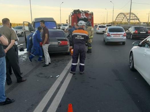 В Уфе в ДТП погиб водитель иномарки