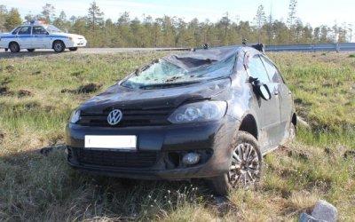 Пассажирка иномарки пострадала в ДТП в Карелии