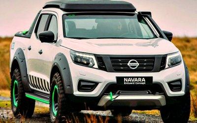 Новая Nissan Navara стала мощнее
