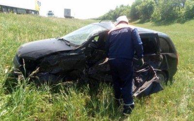 Три человека пострадали в массовом ДТП в Саратовской области