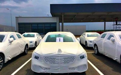 Российский завод Mercedes-Benz приступил ксборке новой модели