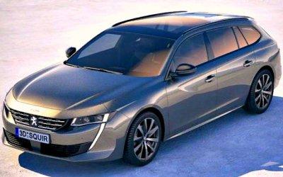 Обнародованы цены обновлённого Peugeot 508 SW