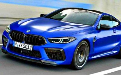 Представлены обновлённые BMW M8