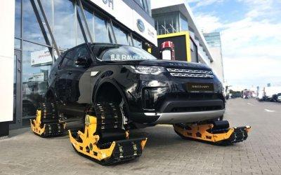 Вездеходные гусеничные движители для вашего Land Rover в «АВИЛОН»!