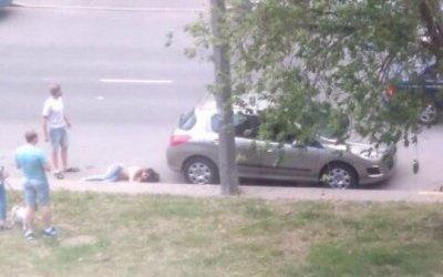 В Петербурге на Асафьева сбили девушку