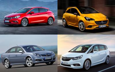 Какие модели Opel популярны на вторичном рынке в России