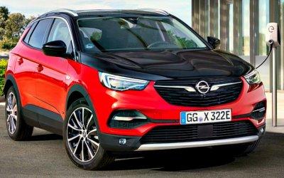 Начались продажи гибридного Opel Grandland