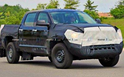 Начаты испытания гибридной модификации Toyota Tundra