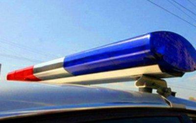 Под Омском в опрокинувшейся машине погиб человек