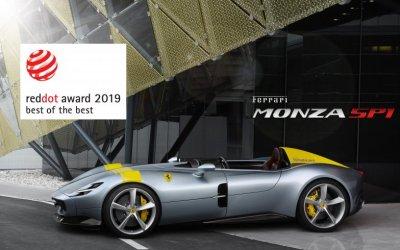 Компания Ferrari удостоилась награды Red Dot Award 2019!