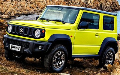 ВИндии будут собирать Suzuki Jimny для экспорта