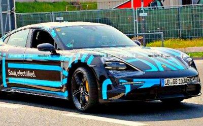 Porsche Taycan: продолжается дорожное тестирование